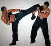 Kickboxen kick-fit