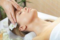 Energetische hoofd massage