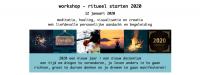 Workshop – ritueel starten 2020 12 januari 13:00-16:30 uur